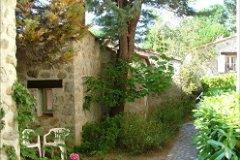 Catalan village style in pure hand cut granite stone