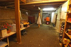 - and more basement with c/h boiler and door with steps to garden