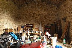 The barn - double storey - more space for conversion if needed