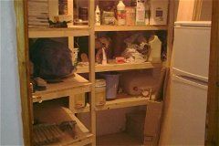 Kitchen store cupboard