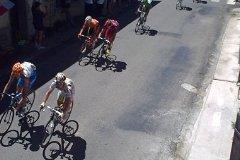 Le Tour de France Below the Window