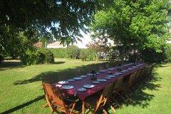 Communal Alfresco Dining