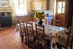Spacious French Farmhouse Kitchens