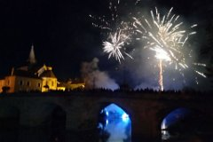 Popular Village fireworks