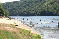 local lake beach