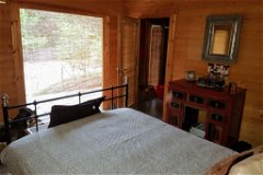 Log Cabin Double Bedroom