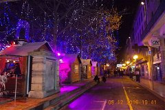Place Carnot at Christmas