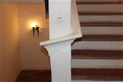 Hand rail, stairs and hall-way timer light switch