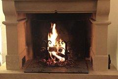 The lit chimney
