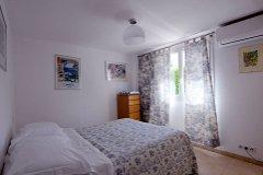Garden flat - double bedroom with en-suite