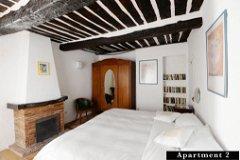 Apartment 2 - double bedroom with en-suite