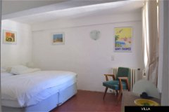 Villa - double bedroom with en-suite