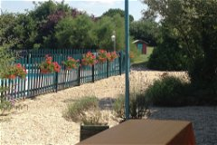 Les Boulins pool terrace