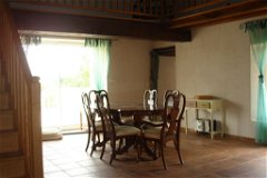 Dining room with access to terrace