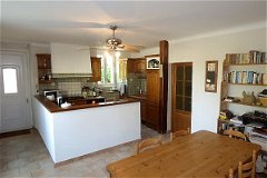Family dining kitchen 25m²