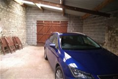 Garage 2 with doors to rear of property
