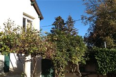 Garden terrace and pergola