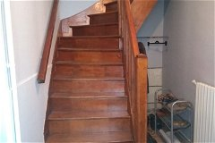 Artisan crafted oak staircase