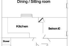 Gite Floor Plan