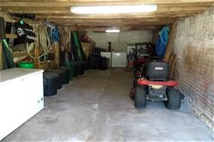 Mower & bait shed