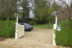 Entrance of property