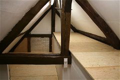 Main house attic