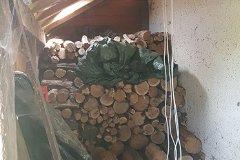inside wood store