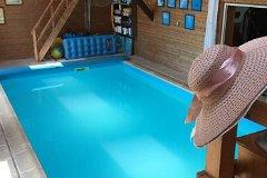 Indoor heated swimming-pool