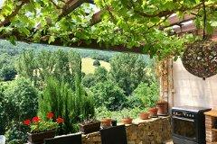 Terrace summer kitchen