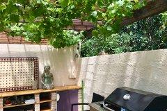 Dining terrace, summer kitchen