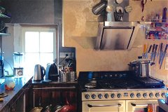 Kitchen in daylight