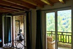 2 Double opening doors from bedroom 1 onto terrace
