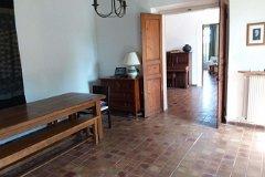 Dining room looking into hallway
