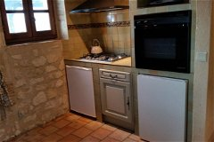 Kitchen (hob and cooker)