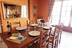 Gite 1 dining room