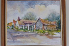 A local artist's impression of the house