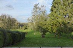 Rear garden and adjoining fields