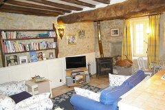 Open Plan Gite Living Space