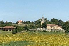 View onto hamlet