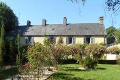 rear garden and facade