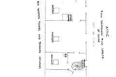 attic/loft plan