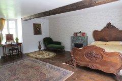 master bedroom looking towards front garden