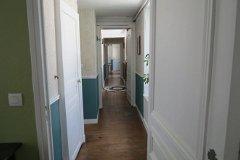 first floor landing looking towards bedrooms 3-4 from master