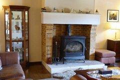 Lounge Main House 17kw log burner