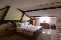 Master Bedroom Main House. A tastefully decorated room with a very peaceful and relaxing feel