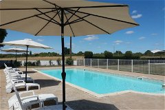 Swimming Pool - 14x6 salt water pool with security gate, pool alarm, fencing & amazing views