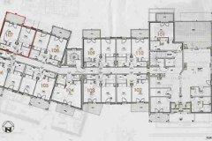 Floor Plan of Building - not for contract