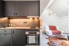 Designed renovated kitchen
