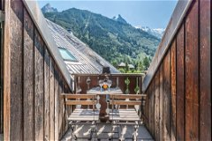Enjoy the view from the balcony after a ski/hike day
