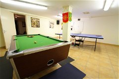 Games room (basement)